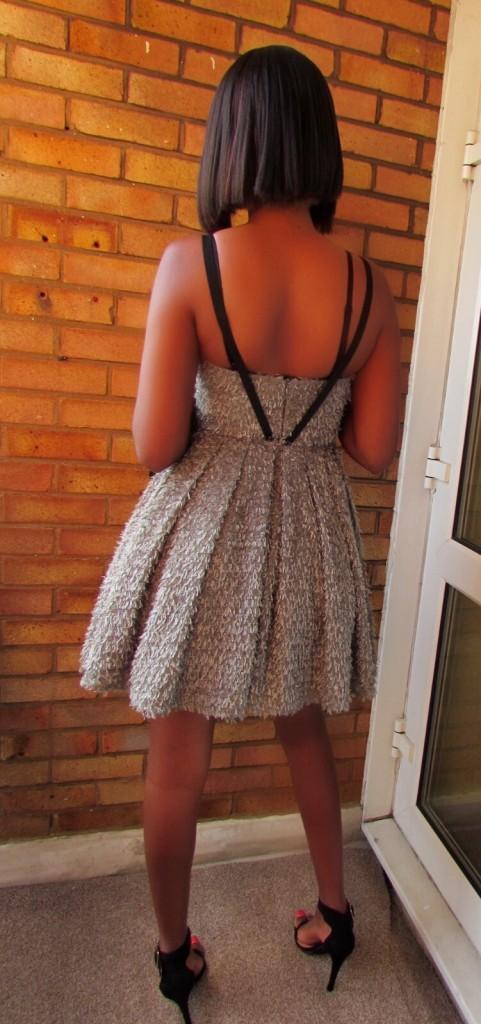 Grey tutu dress